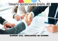 temario oposicion GUARDIA CIVIL: SIMULACROS DE EXAMEN