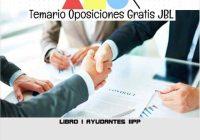 temario oposicion LIBRO I AYUDANTES IIPP